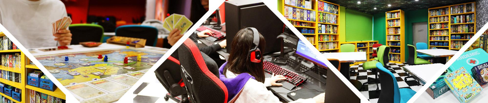 ゲームスペースの写真